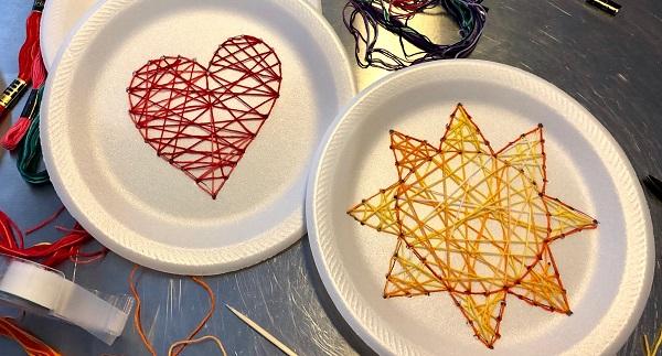 Maker Monday: String Art Stitch Cards