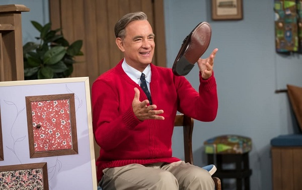 We're loving Tom Hanks as Fred Rogers in 'It's a Beautiful Day' trailer. Watch it here.
