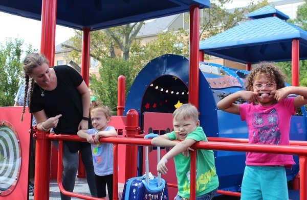 The Children's Home erects Pittsburgh's newest inclusive playground