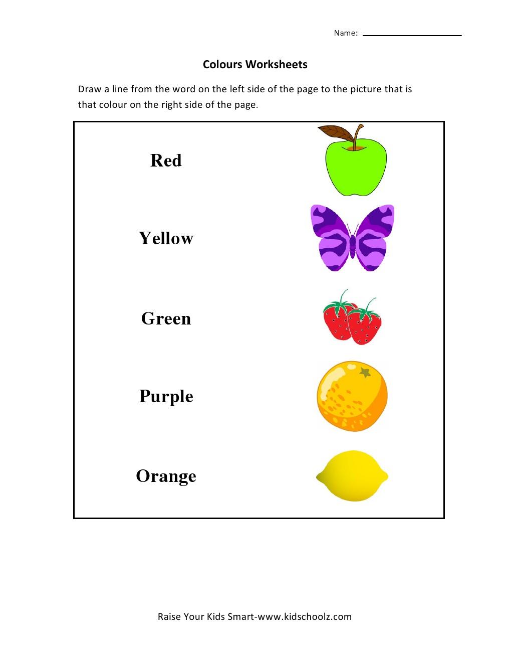 Best Downlo D K Derg Rten Science W Ksheets Colours M Tch G