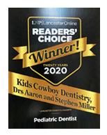 kids-cowboys-pediatric-dentistry-lancaster-pa-award_2020