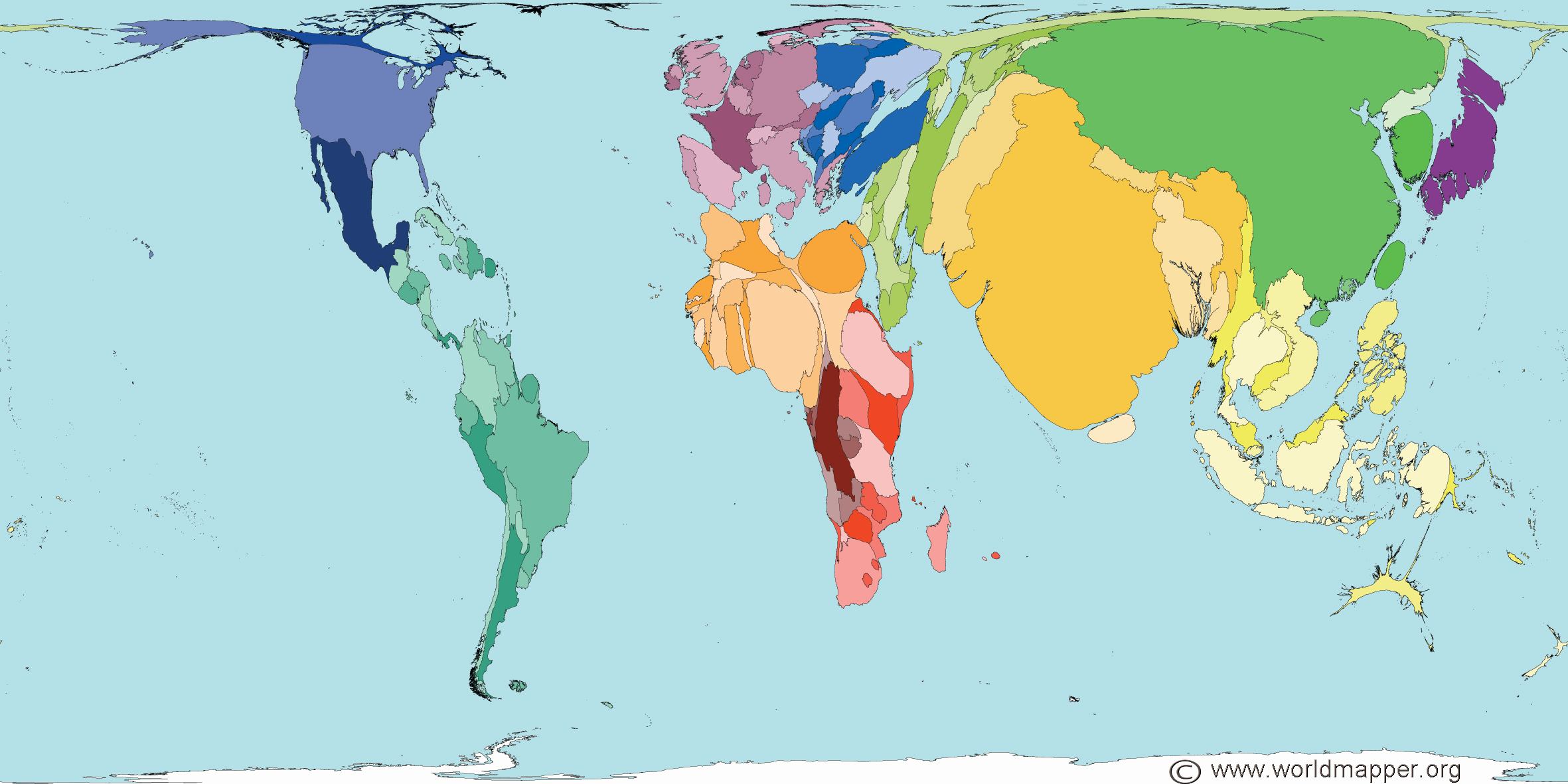 World Maps Of A Most Unusual Sort