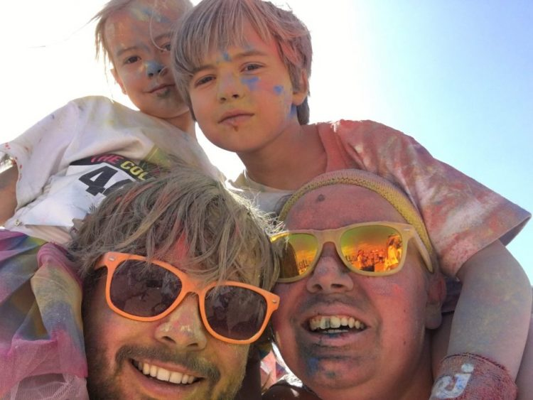 The Color Run in Oostende