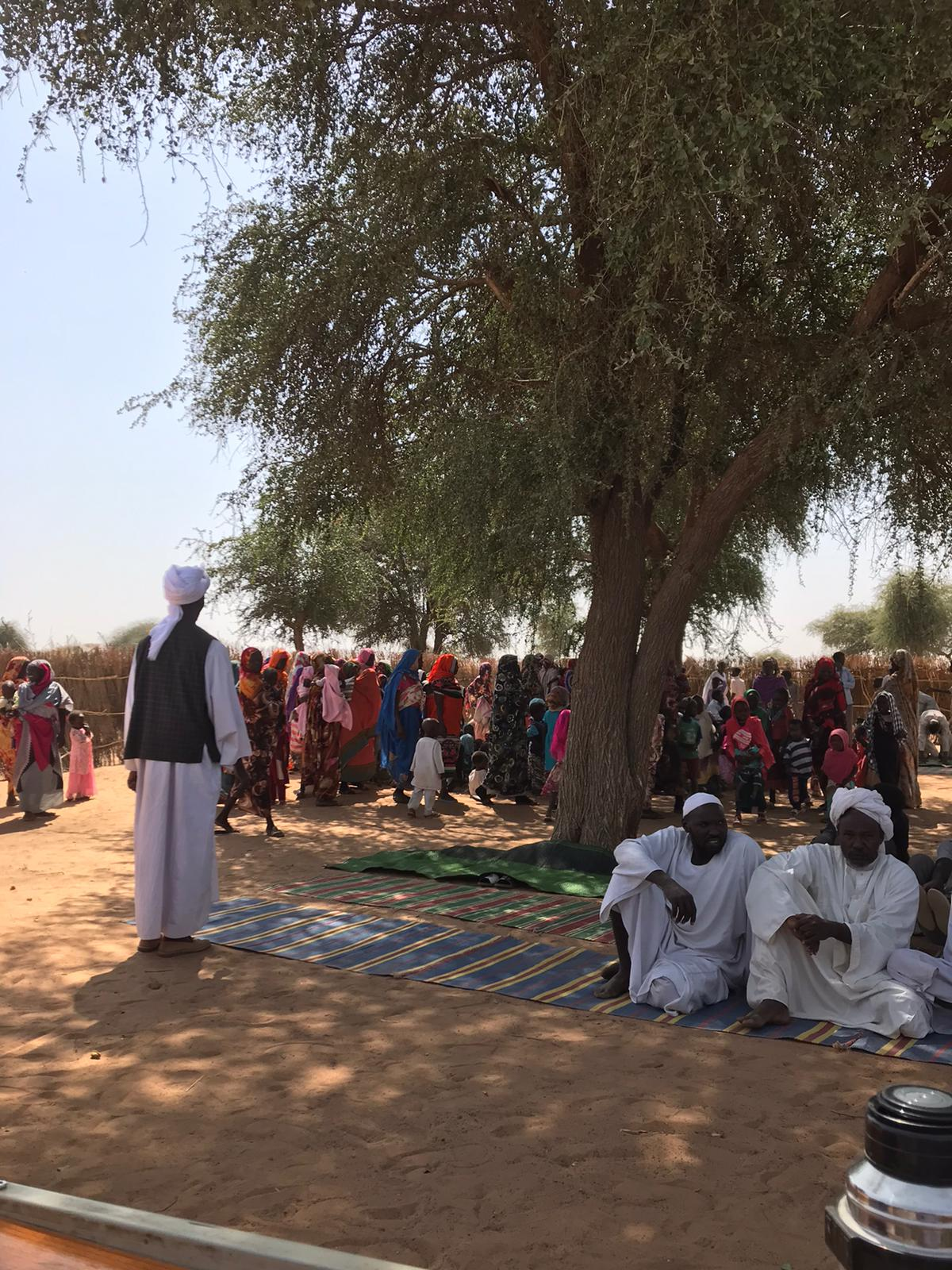 New village – Abu Sinait A – desperately in need. They don't even have kitchen utensils. Their harvest was small and many dont have a donkey. They need everything.