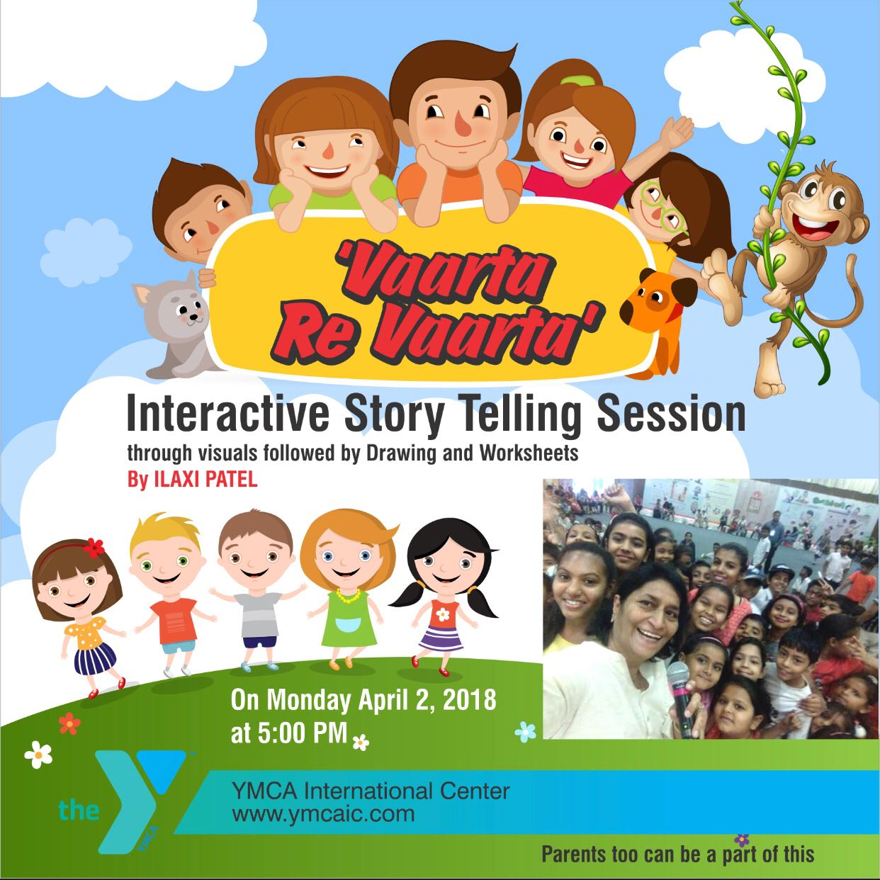 Step Into The World Of Imagination Story Telling