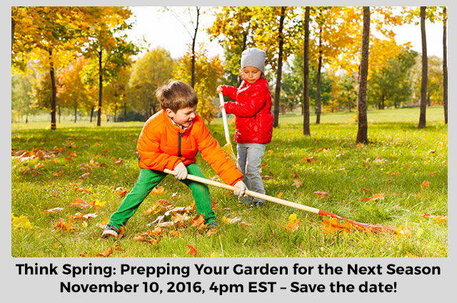 Eat. Learn. Live. and Grow Webinar - Kidsgardening