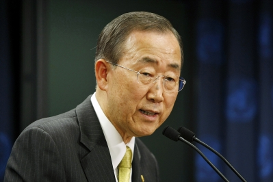 "UN Secretary General Ban Ki-moon, whose latest report on human rights abuses in Iran specifically highlighted the country's ongoing ""discrimination and harassment"" of its Baha'i community."