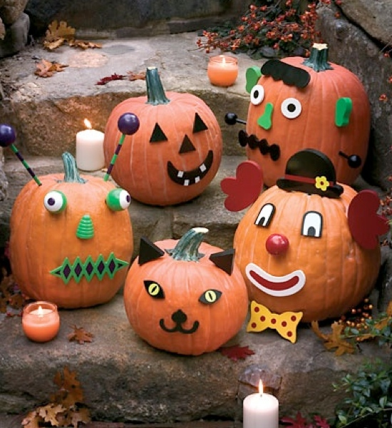Isn T The Same Without Some Pumpkin Decorating For Little Kids Who Aren Able To Carve Intricate Masterpieces Yet There Are Plenty Of