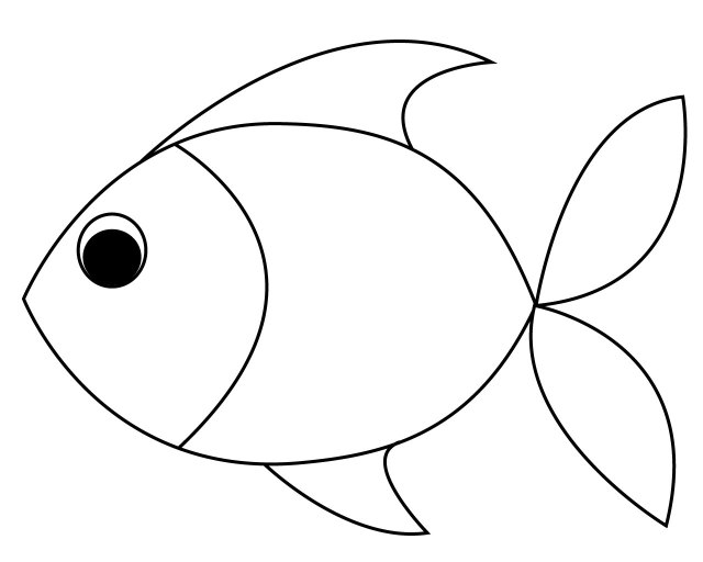 Fish Coloring Pages for Toddler – PRINTABLE Kids Worksheets