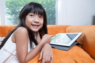 Kinder Online-Werbung