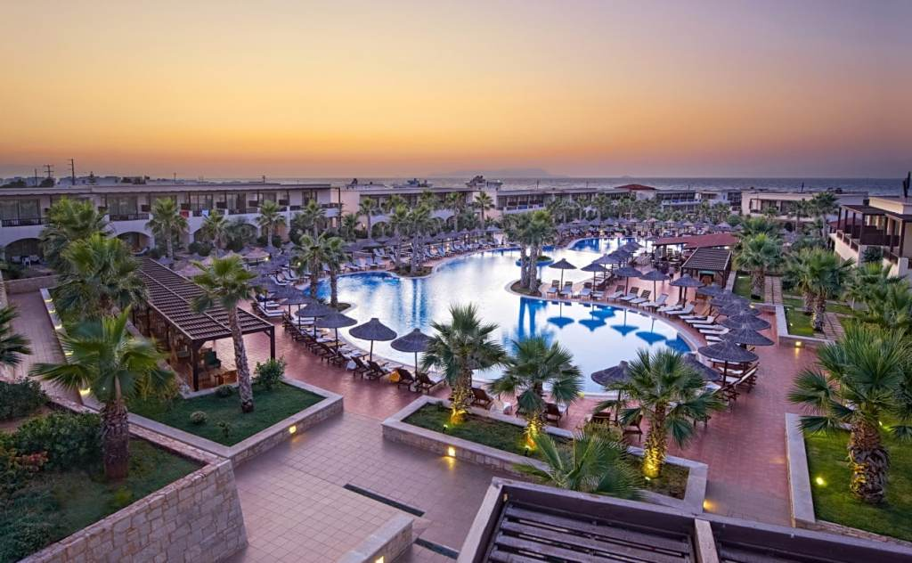 Stella Palace Resort and Spa Heraklion Crete Water Park Family Vacation Greece