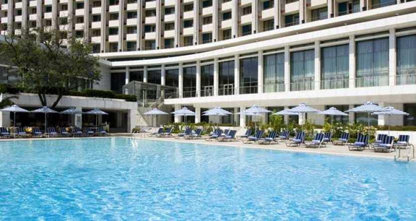 Outdoor Pool Hilton