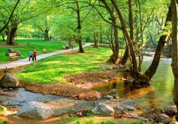 Edessa – the Grove of St. Nicholas