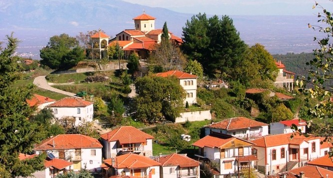 Edessa – the Grove of St. Nicholas