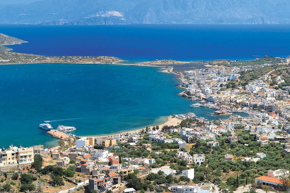 Elounda bay Crete KidsLoveGreece.com