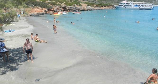 Kolokytha or The beach of St. Loukas