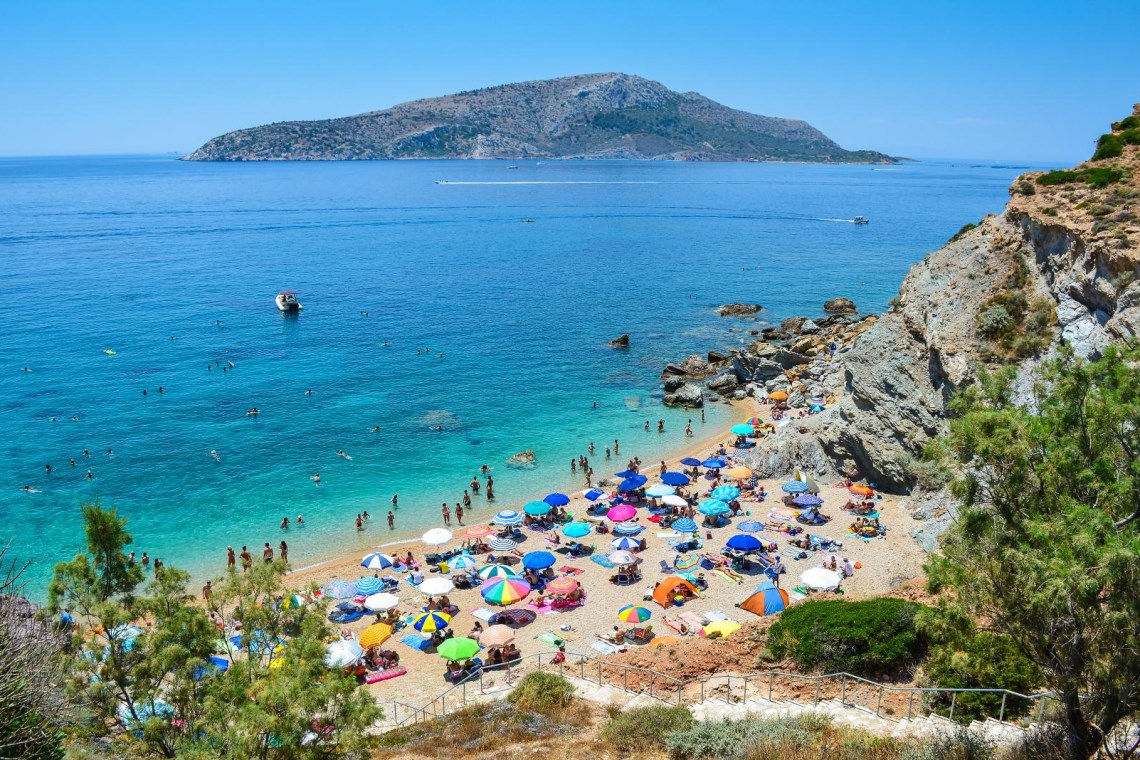 beach in Athens