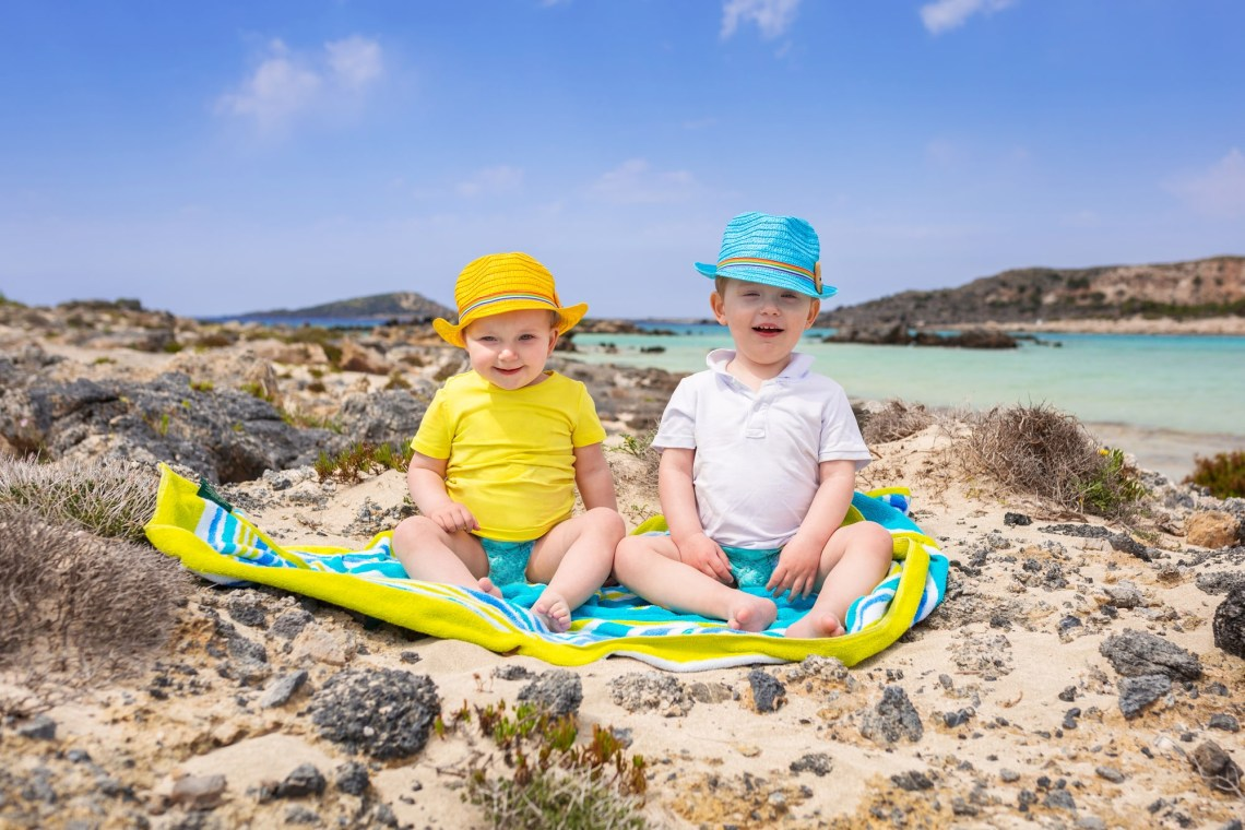 Beaches for toddlers and babies Greece Crete DP-min
