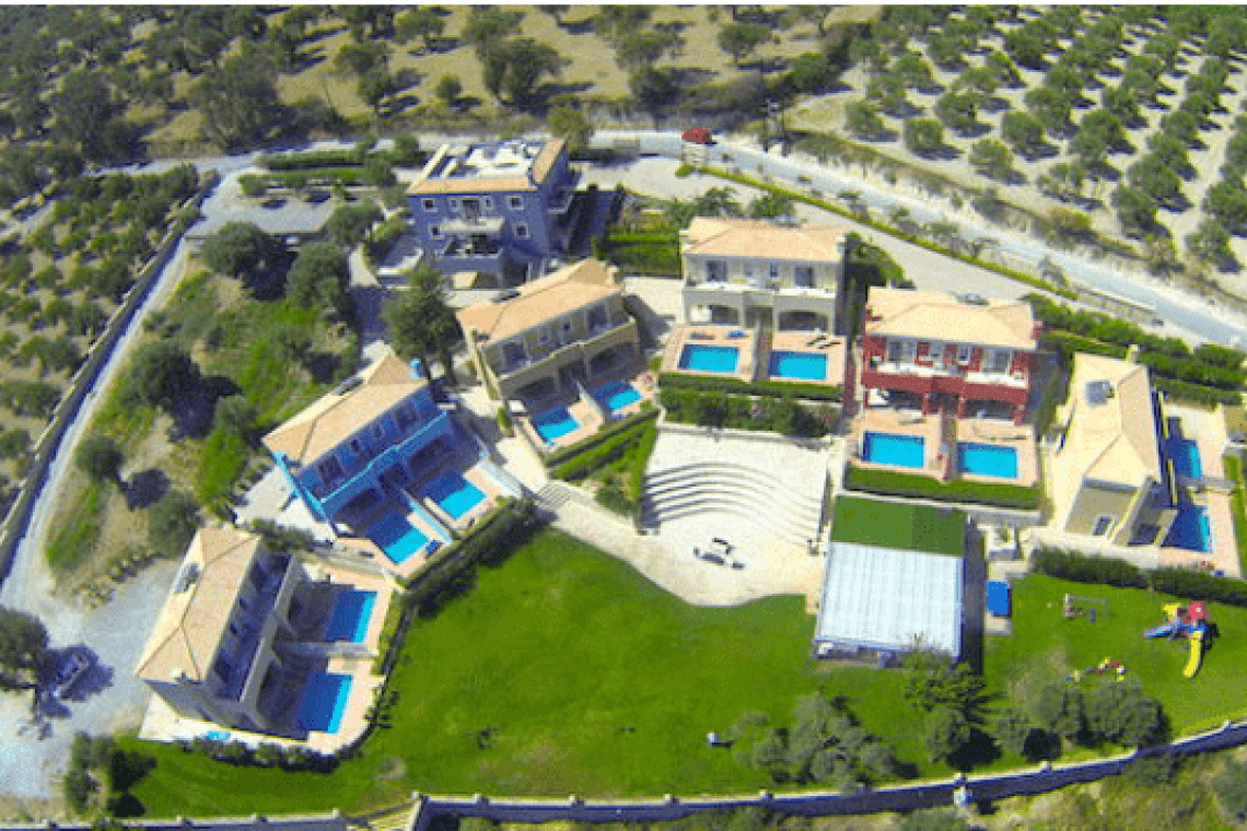 Carme Villas family complex adele rethymno kids love greece accommodation for families Crete