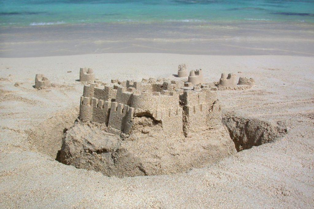 Sandcastle in Greece CV