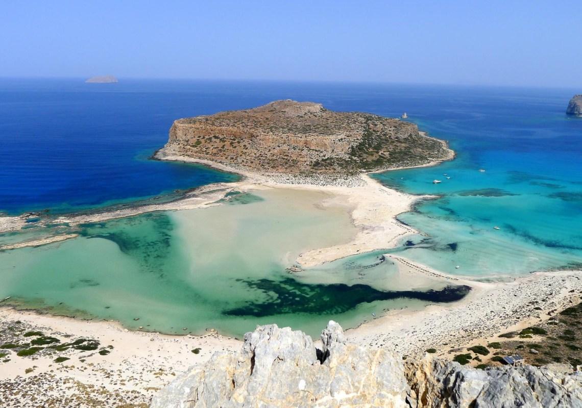 Balos Gramvousa cruise Chania KidsLoveGreece.com