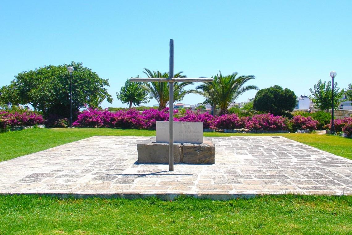 Kazantzakis tomb Heraklio