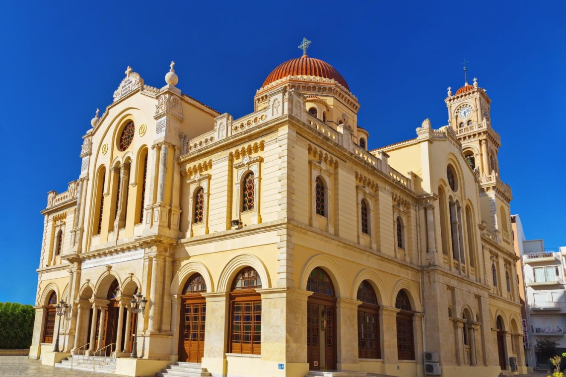 saint Minas cathedral Heraklion
