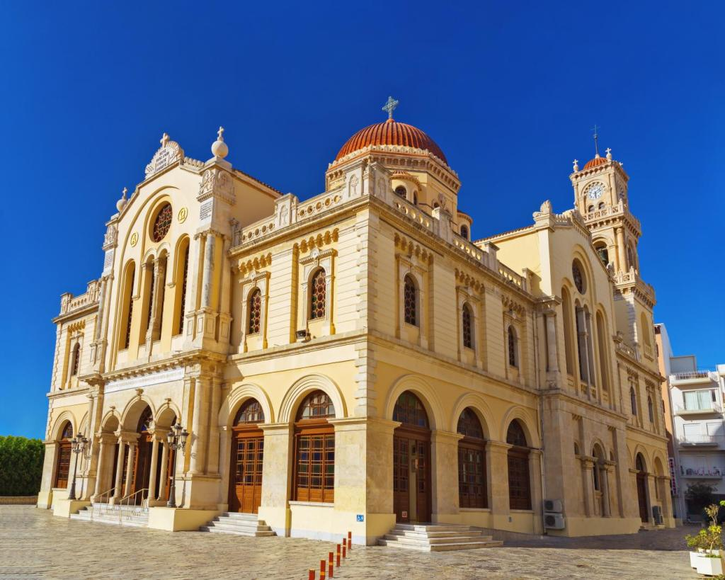 saint Minas cathedral Heraklion