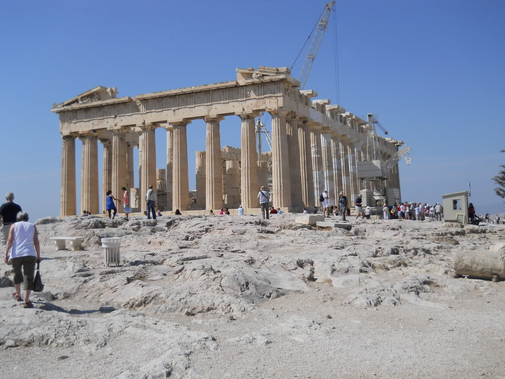The spectacular Parthenon