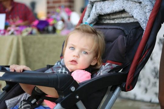 child baby in stroller Greece