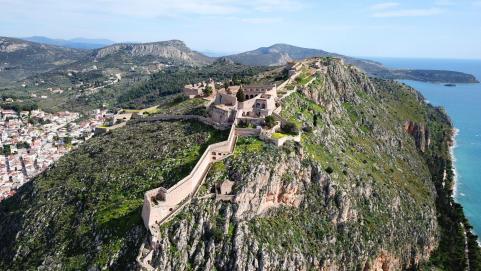 Palamidi castle in Nafplio 999 stairs to climb up KidsLoveGreece.com