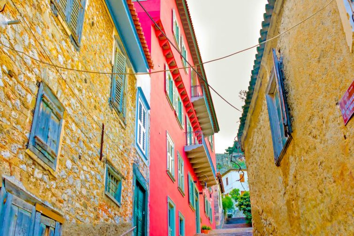 street with stairs n Nafplio