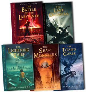 Percy Jackson Greek Mythology Books