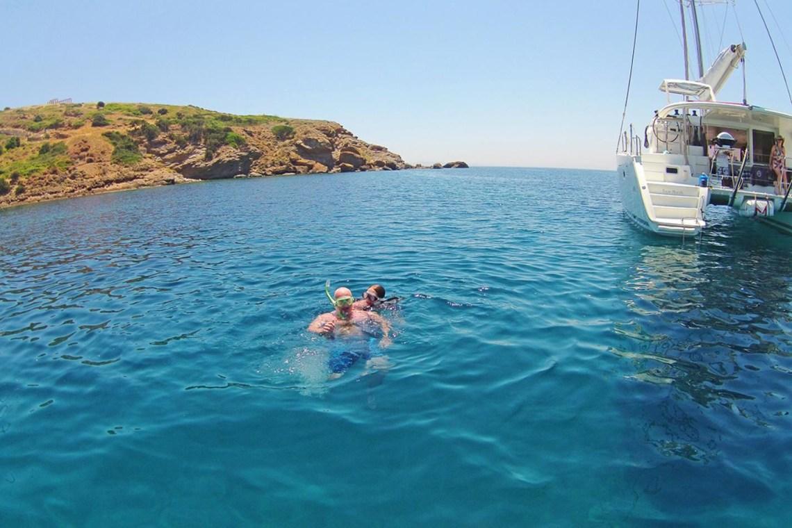 family sailing trip athens riviera