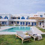 family villas in Ornos Mykonos Cyclades Ianera Ianessa kids love greece accommodation for families
