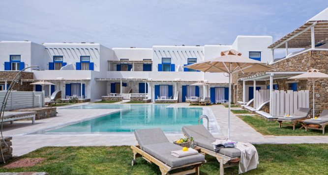 Family Villas in Ornos Mykonos