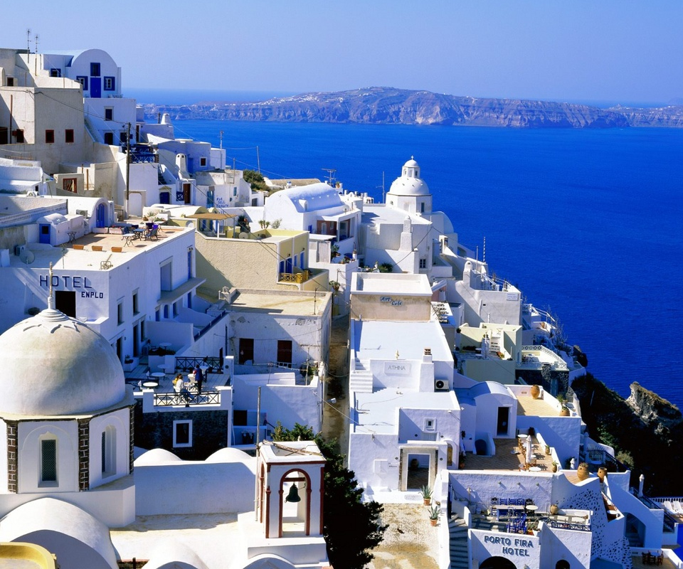Visit Santorini in Autumn with Kids Love Greece