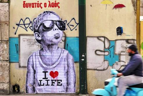 Street Art walking tour 10 things you must do in Athens with your family kids love greece activities for families
