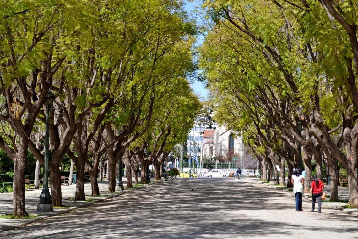National gardens Athens