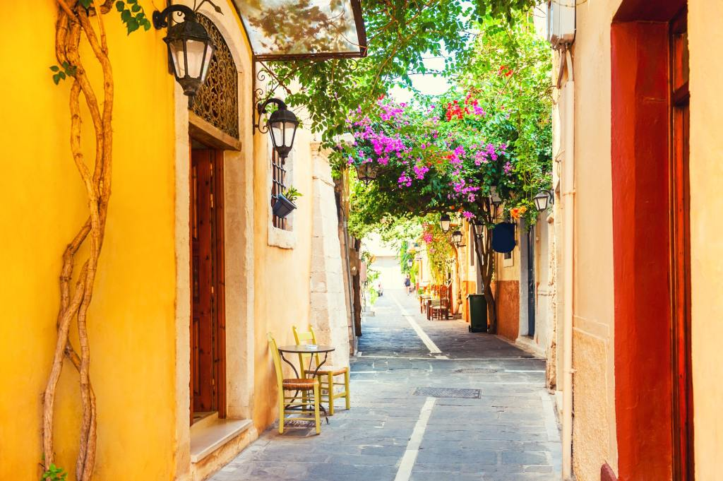 Rethymnon Old Town Crete Family Vacation with Kids Greece