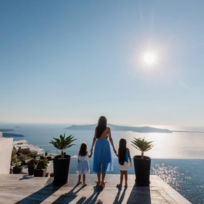 Explore Santorini on foot