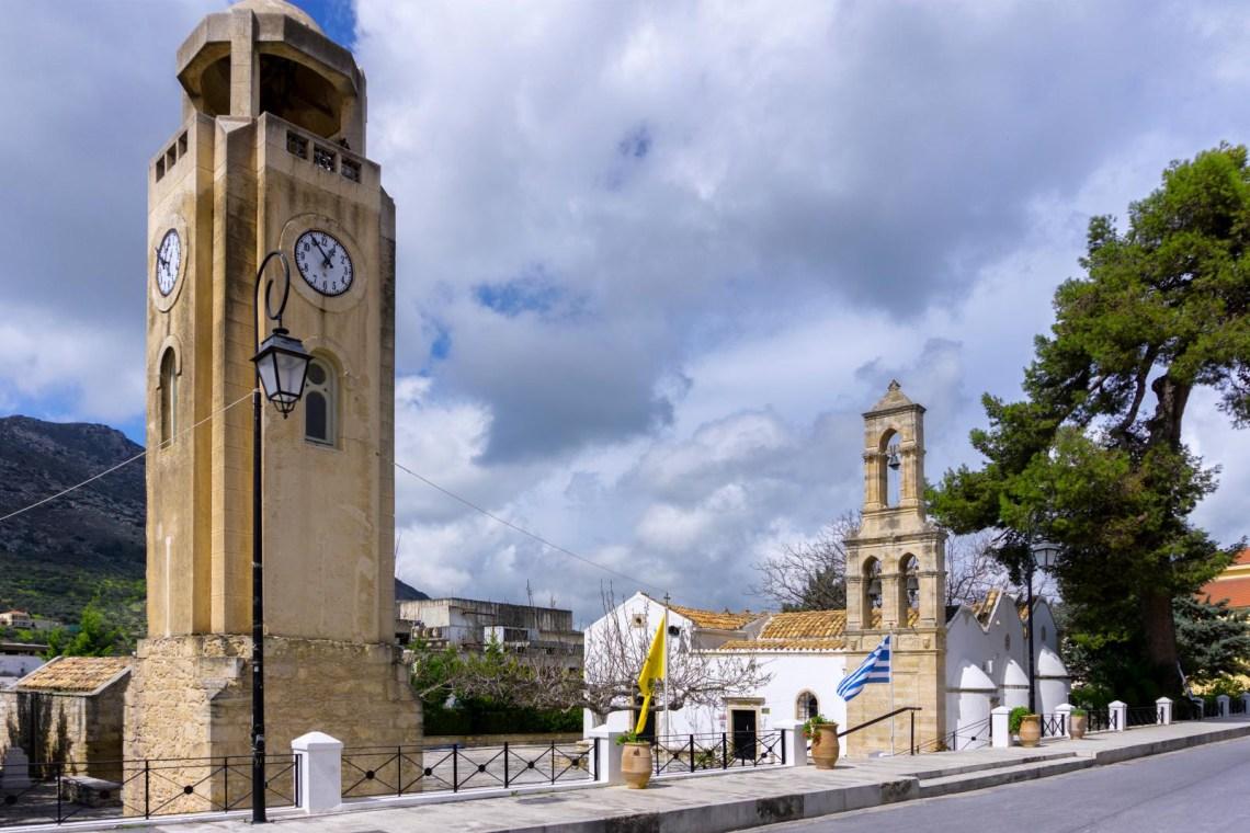 Church at Archanes village near Heraklion
