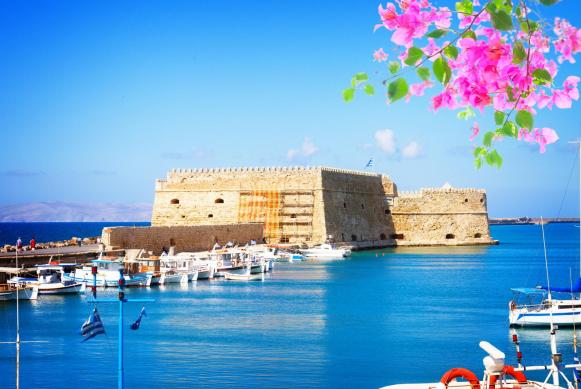 Koules fortress port of heraklion
