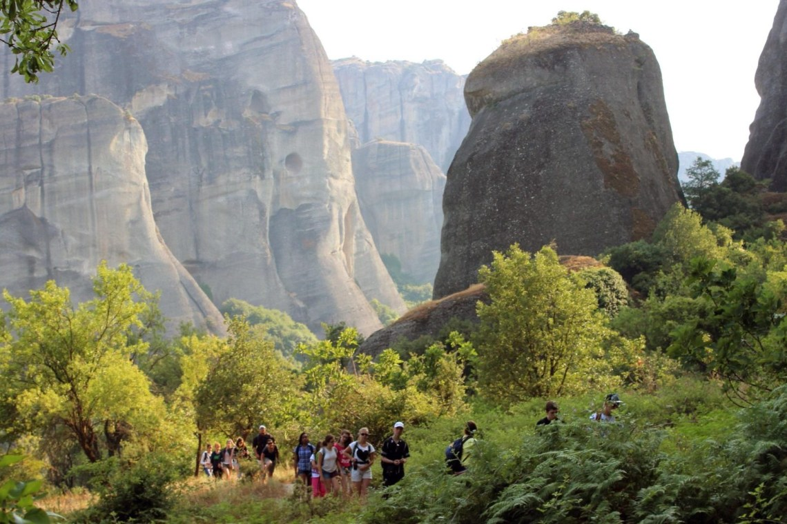 family hiking tour meteora Greece Thessaly kidslovegreece locals experts group