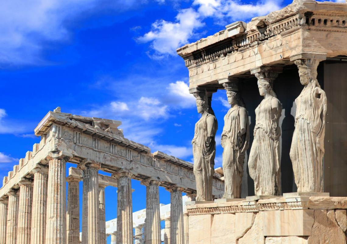 Karyatides and Parthenon