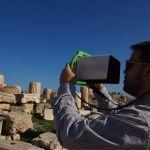 parthenon 3d virtual reality family tour