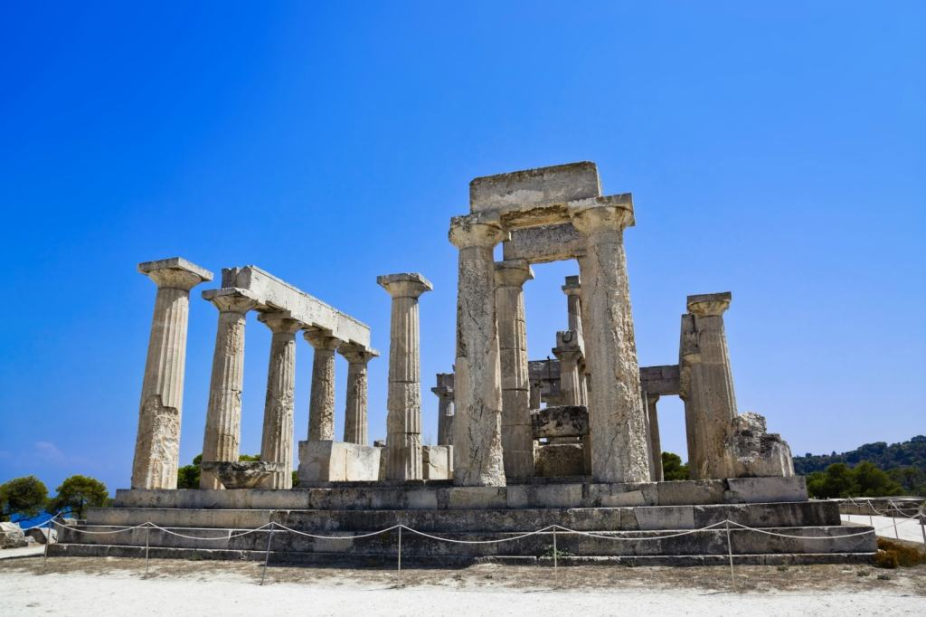 Aegina Three Greek Islands in One day family friendly cruise Athens Saronic kids love greece activities