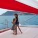 Premium semi-private Santorini Family Sailing Day Tour