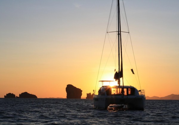 Premium semi-private Santorini Family Sailing Sunset Tour
