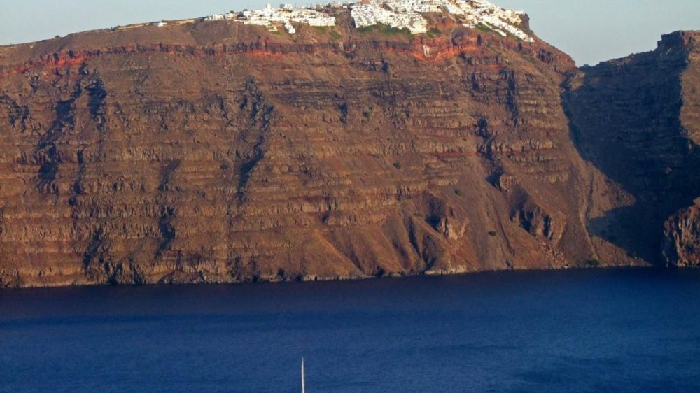 Premium semi-private Santorini Family Sailing Sunset Tour